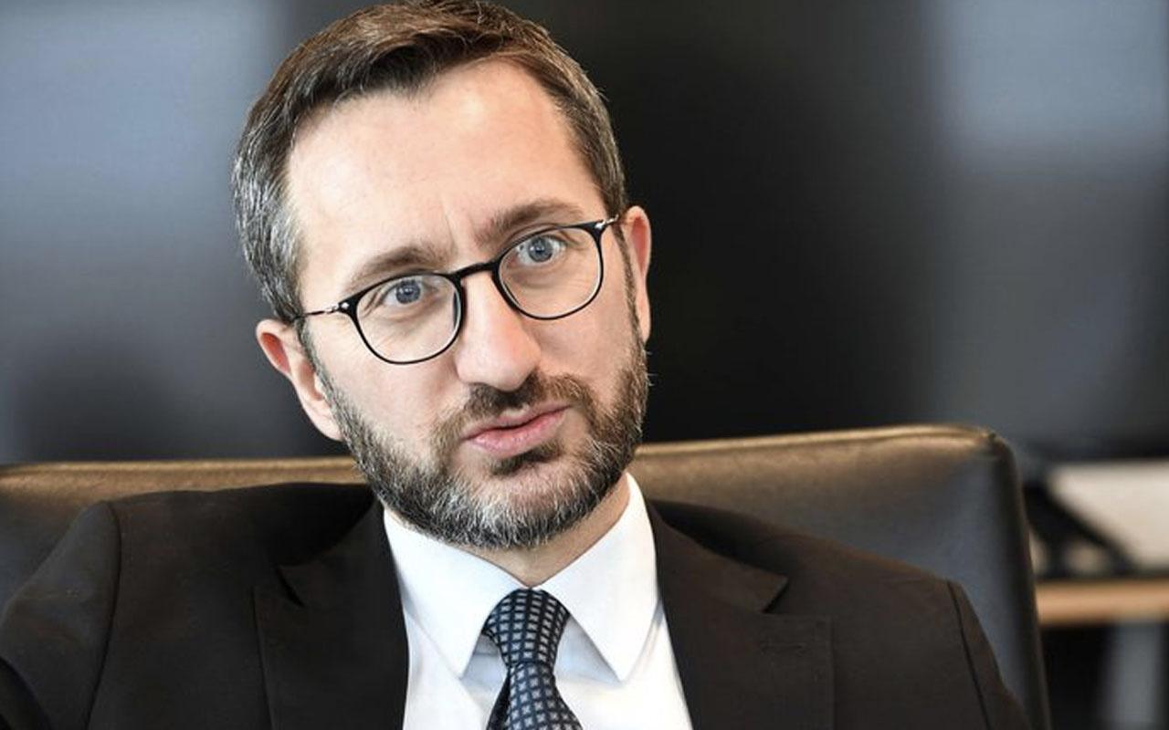 İletişim Başkanı Fahrettin Altun'dan Ayasofya açıklaması