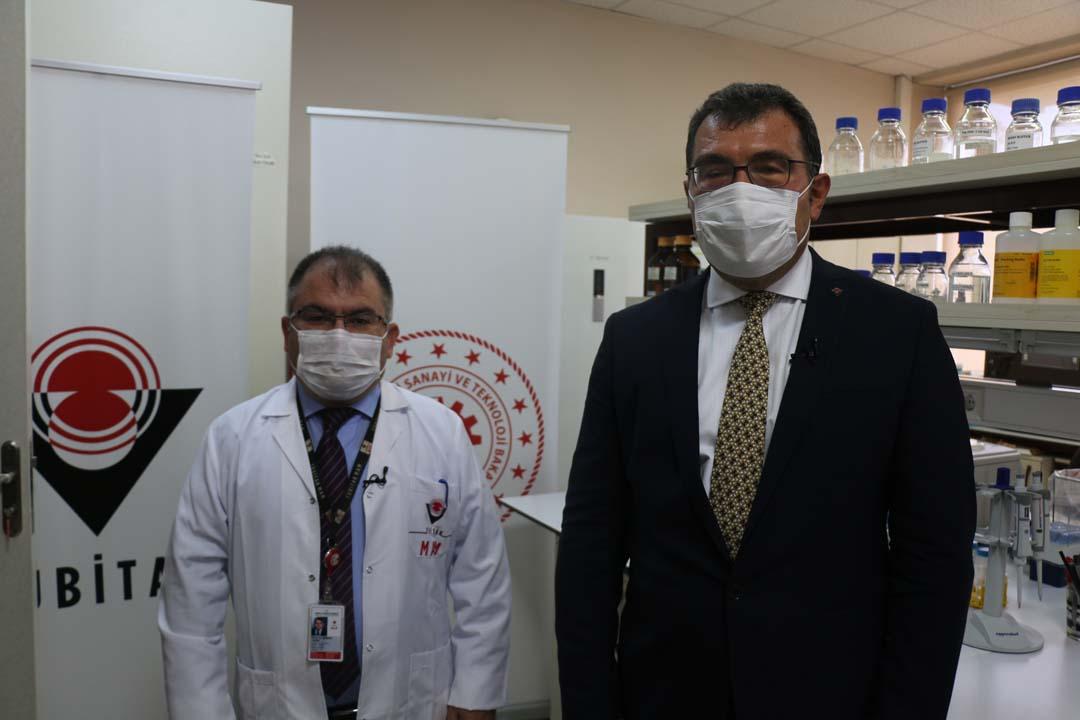 TUBİTAK Başkanı Mandal, Kovid-19 aşısı için tarih verdi