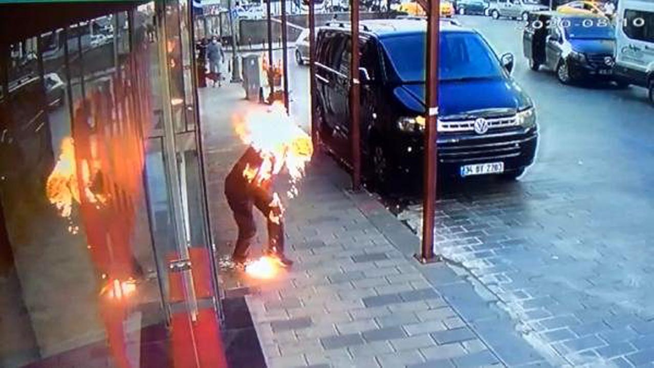 İstanbul'un göbeğinde dehşet! Kavga ettiği kardeşini diri diri yaktı