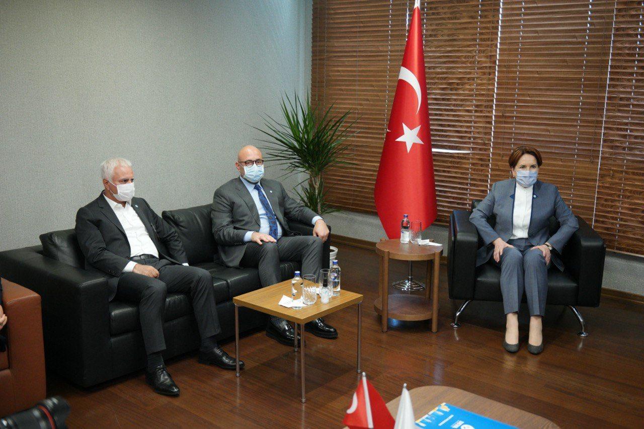 Akşener'den Babacan'a 'hayırlı olsun' ziyareti
