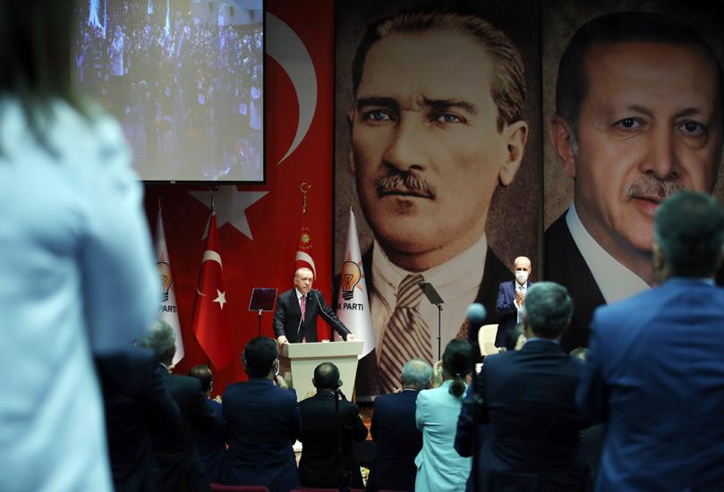 Erdoğan'dan Doğu Akdeniz açıklaması: Hakkımızı yedirtmeyiz