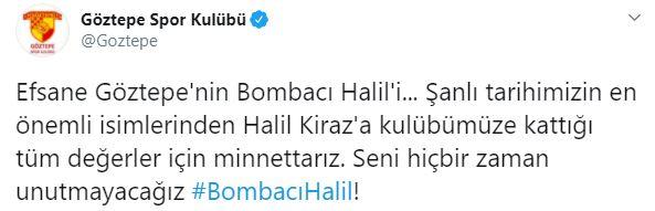 Türk futbolunun acı kaybı! Göztepe'nin eski futbolcularından Halil Kiraz vefat etti
