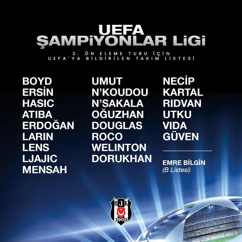 Beşiktaş, PAOK maçının hazırlıklarına başladı!