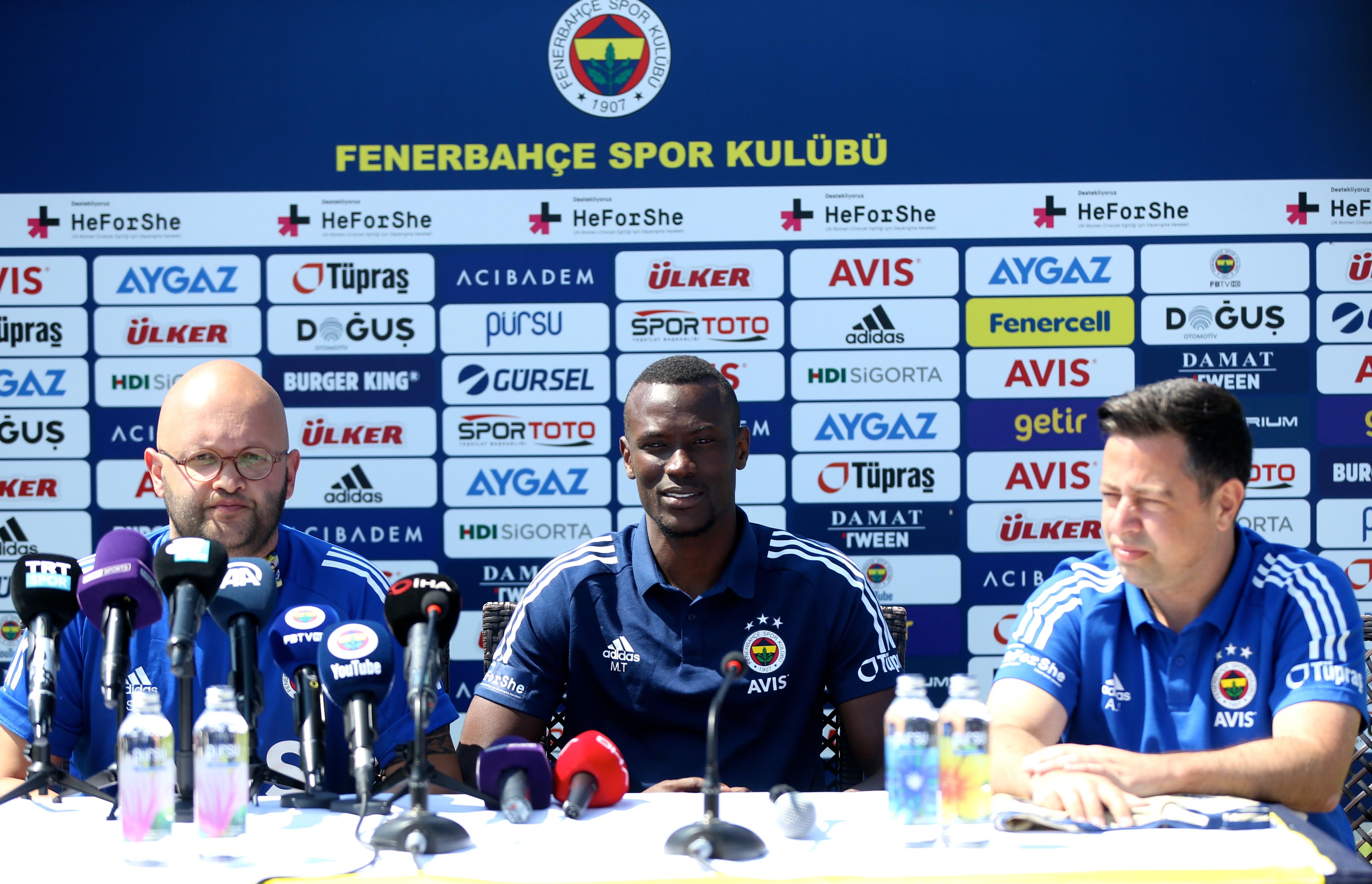 """Mame Thiam: """"Fenerbahçe her zaman büyük bir takımdır"""""""