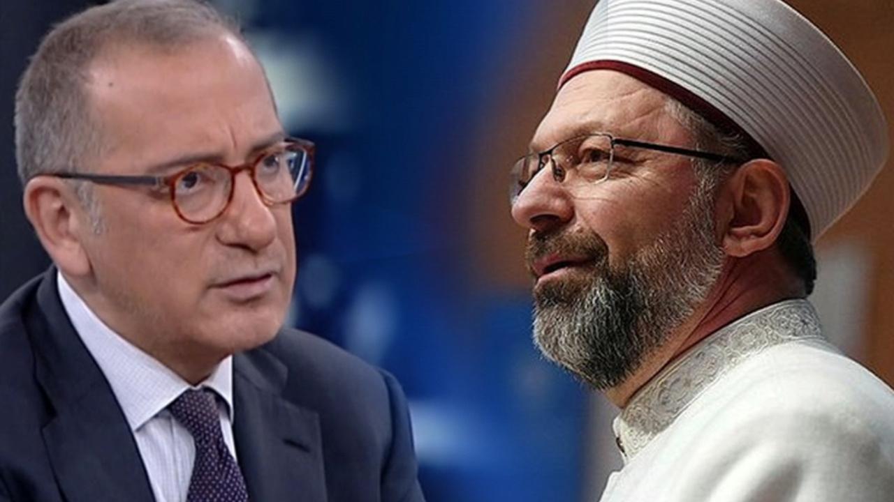 Diyanet'ten Fatih Altaylı'nın iftirasına ilişkin açıklama
