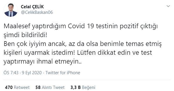 Kemal Kılıçdaroğlu'nun avukatı Celal Çelik koronaya yakalandı!