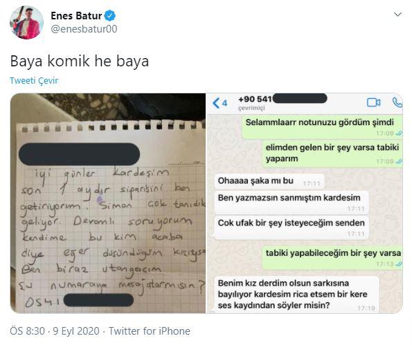 Gülümseten paylaşım! Enes Batur ve Reynmen'i karıştırdı