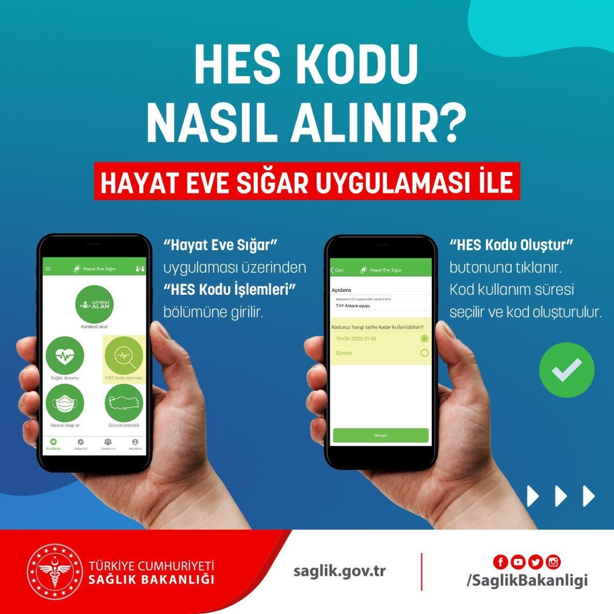 İstanbul'daki kamu kurumlarında HES kodu zorunlu oldu