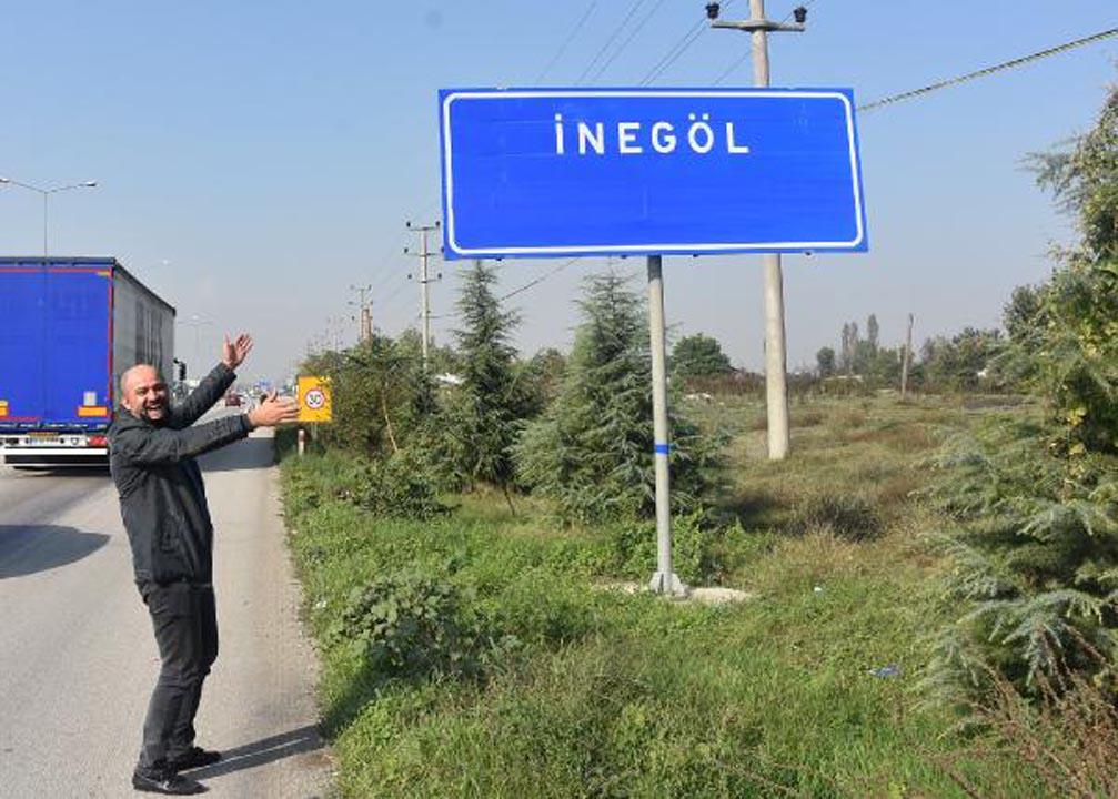 Bursa İnegöl'deki tabelalar şaşkınlık yarattı! Belediye Başkanı Taban: Lütfen Müge Anlı'yı aramayın dedi