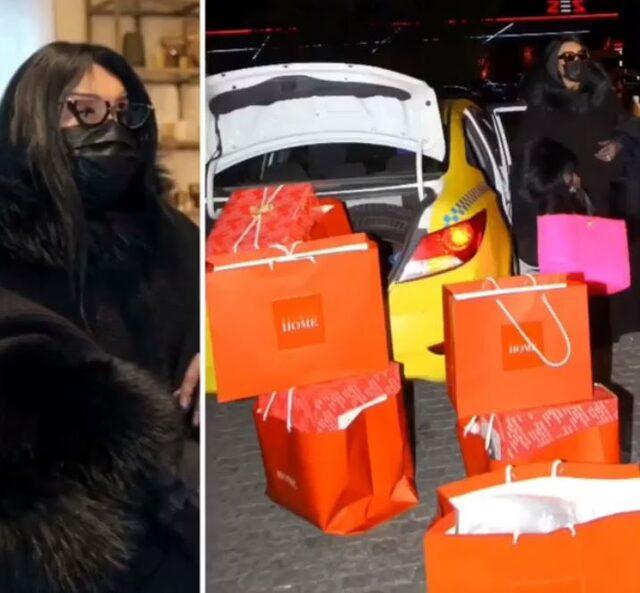 Bülent Ersoy tam 6 saat boyunca alışveriş yapınca poşetler arabadan taştı!