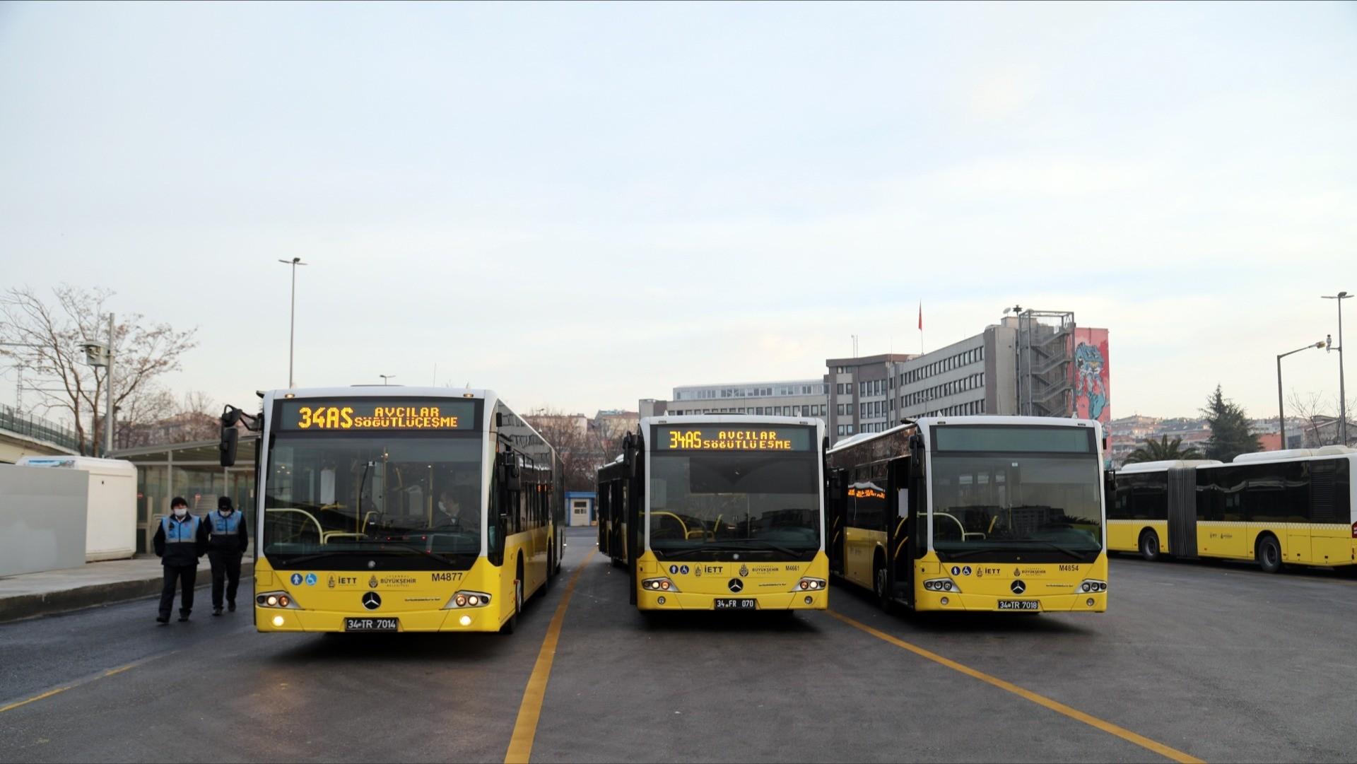 İBB'den toplu taşıma araçlarına korona ayarı! Ek seferler düzenlenecek, yoğun hatlara ağırlık verilecek