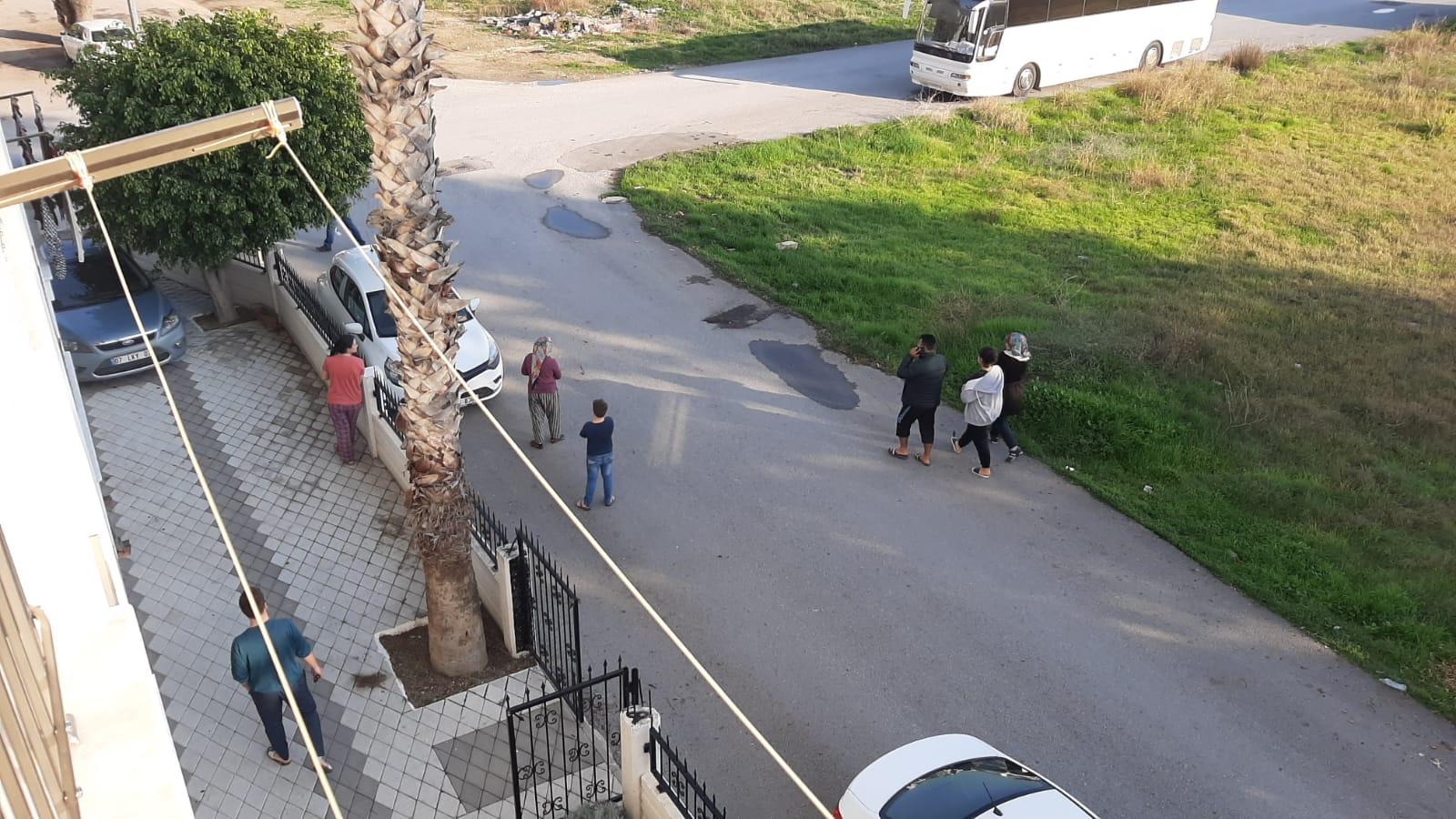 AFAD duyurdu! Akdeniz'de şiddetli deprem!