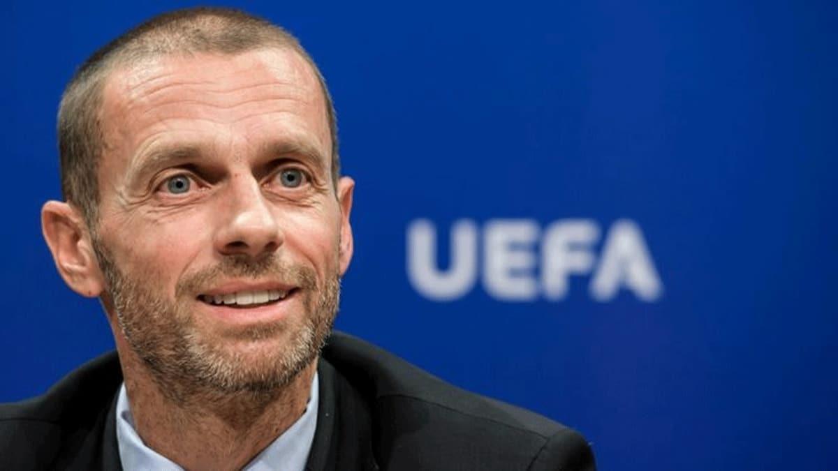UEFA Başkanı Ceferin İstanbul'da oynanacak finale seyircili olacakmış gibi hazırlanıyoruz