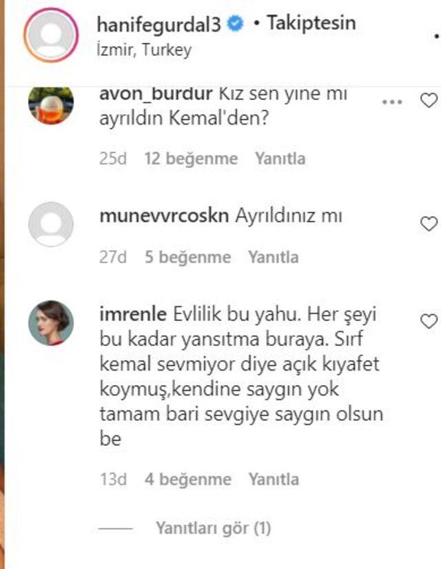 Hanife Gürdal'ın göğüs dekolteli paylaşımına yorum yağdı!