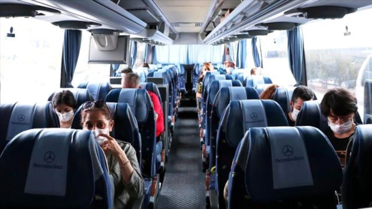 İstanbul'da otobüs firmaları için yüzde 50 doluluk şartı kalktı