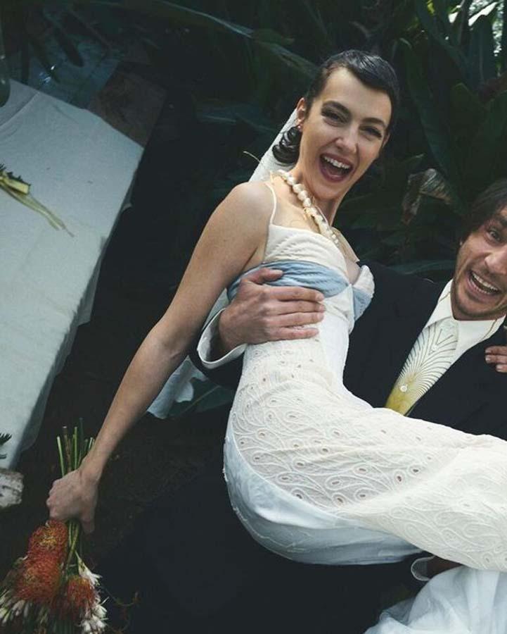 Yılın sürpriz evliliği! Ahmet Rıfat Şungar ile Esra Gülmen dünyaevine girdi