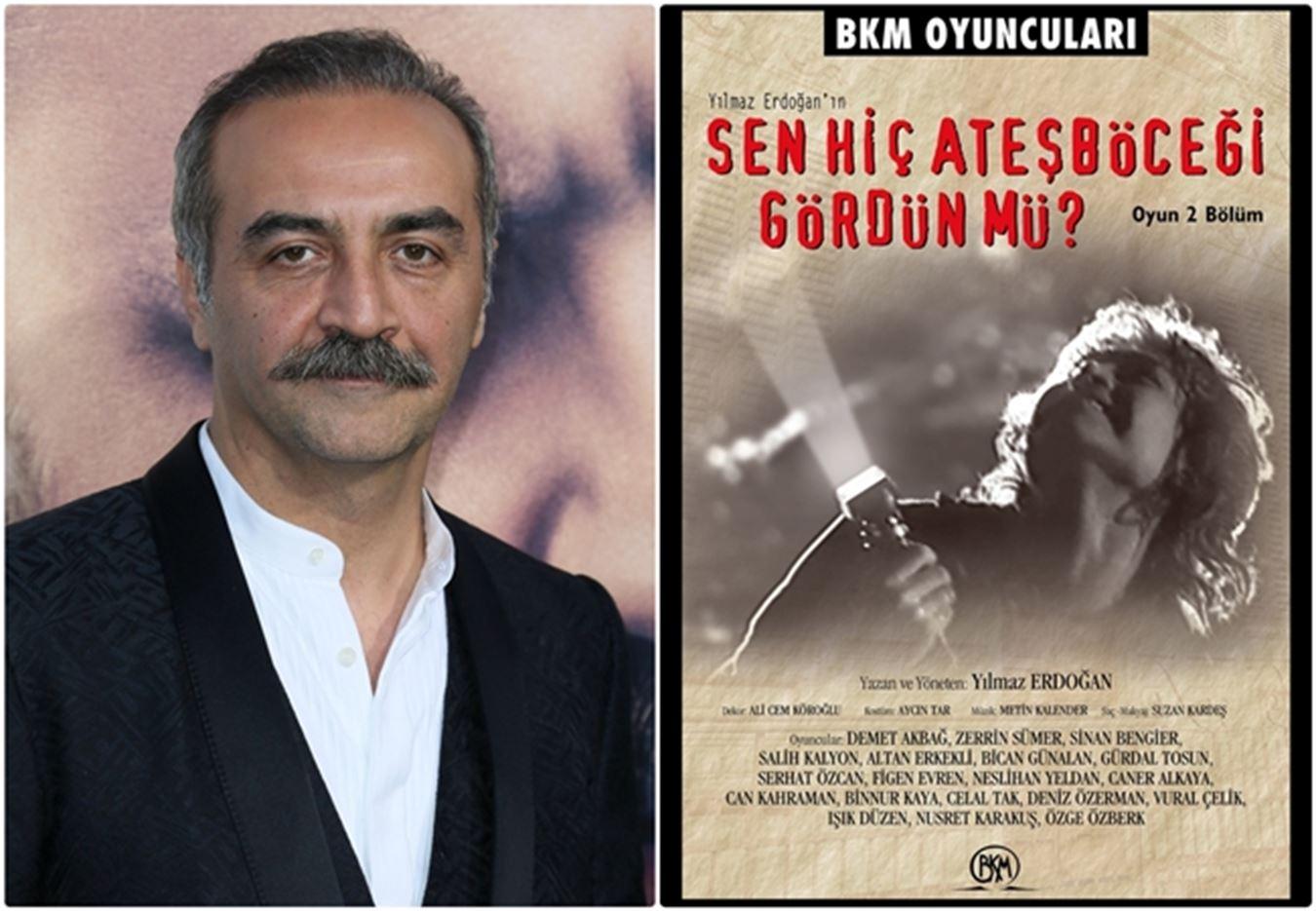 Yılmaz Erdoğan'ın ödüllü oyunu 'Sen Hiç Ateş Böceği Gördün mü?' Netflix'te