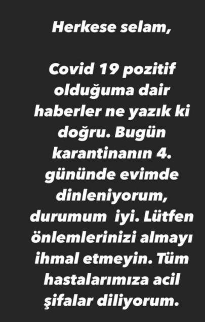 Murat Boz'dan üzen haber: Koronavirüse yakalandı!
