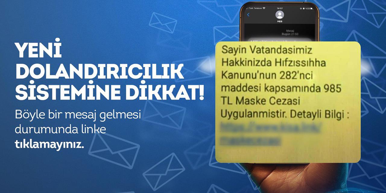 EGM'den vatandaşlara uyarı: Yeni dolandırıcılık sistemine dikkat!